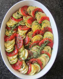 Summer veg tian